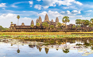 Destination Cambodge