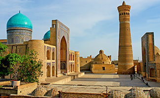 Destination Ouzbékistan