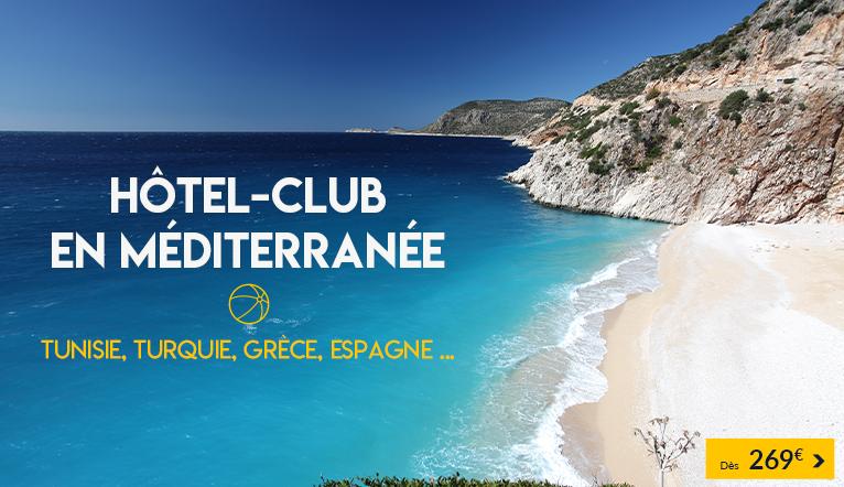 Hôtel en Méditerranée