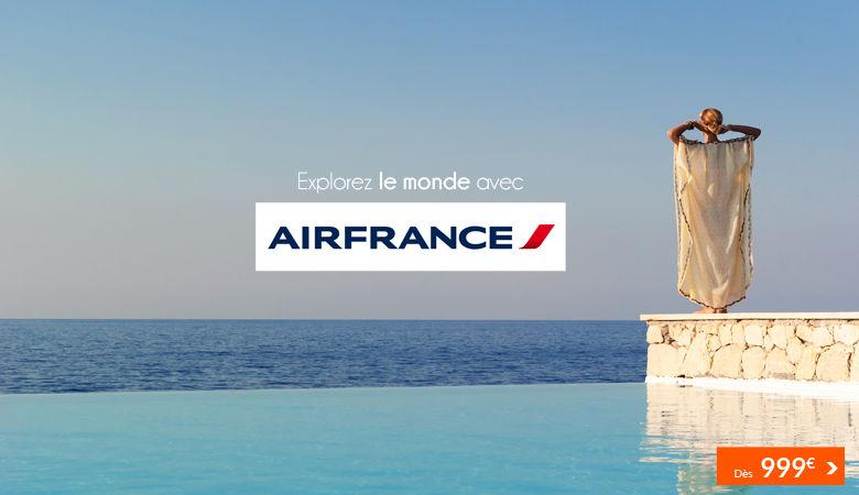 Explorez le monde avec Air France