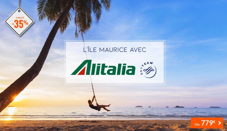L'lle Maurice avec Alitalia