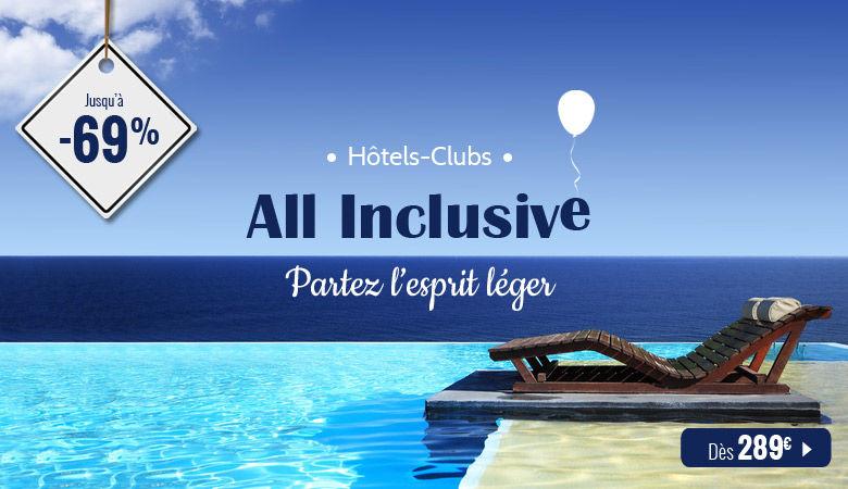 Hôtels-clubs en All Inclusive