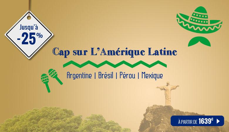 Cap sur l'Amérique Latine