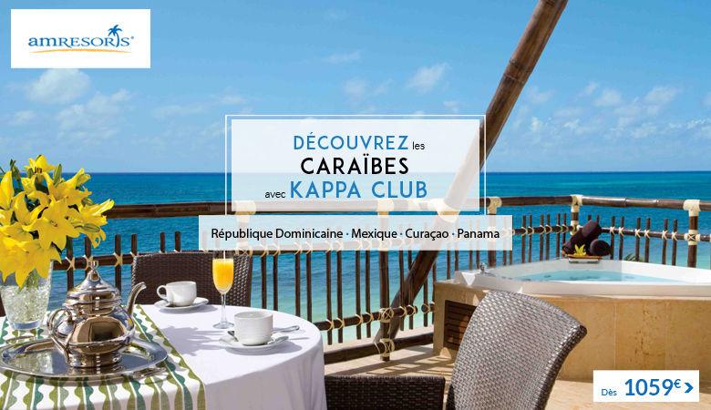 Découvrez les Caraïbes avec Kappa Club