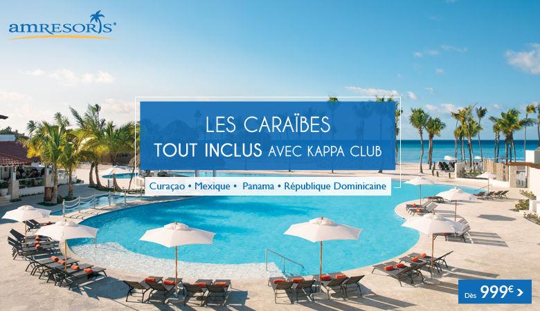 Les Caraïbes en tout inclus avec Kappa Club