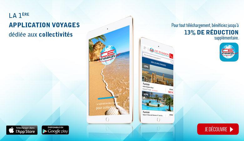 1ère application voyages dédiée aux collectivités