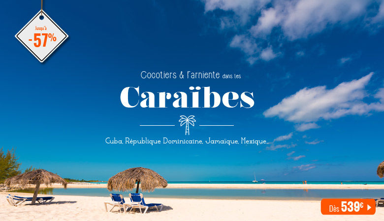 Cocotiers & farniente dans les Caraïbes
