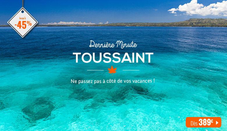 Dernières minutes de la Toussaint !