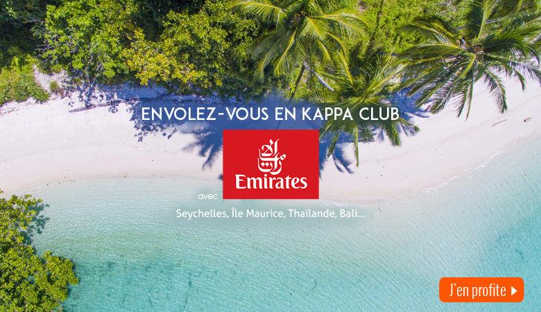 Envolez-vous avec Emirates !