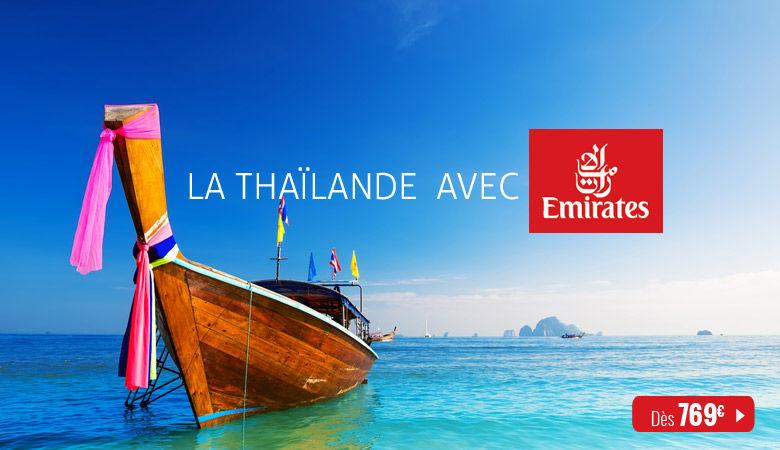 La Thaïlande avec Emirates
