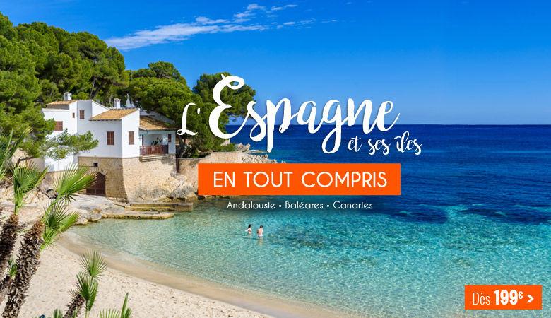 L'Espagne et ses îles en tout compris