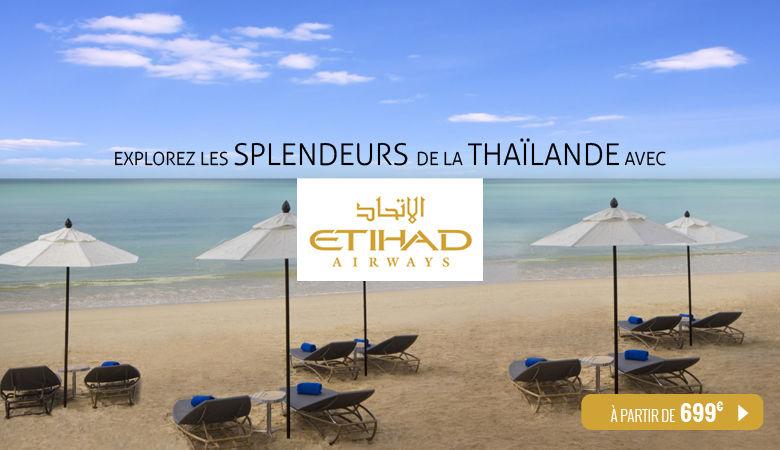 La Thaïlande avec Etihad