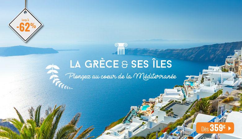 La Grèce et ses îles, plongez au coeur de la Méditerranée