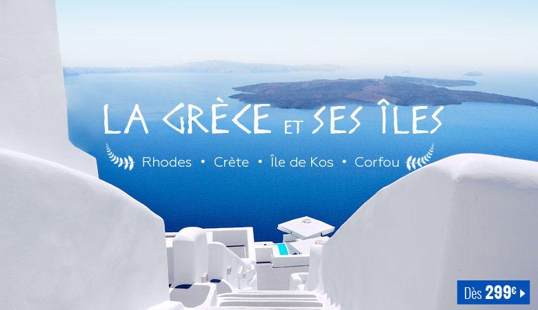 La Grèce et ses îles !