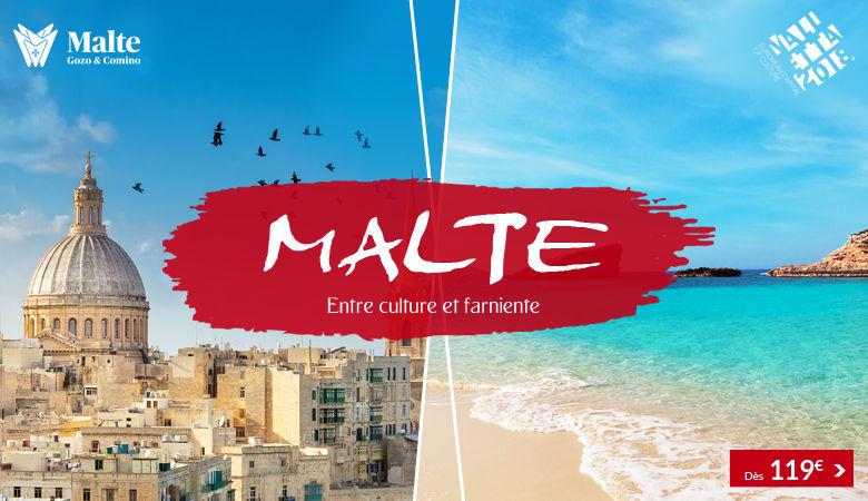 Malte : entre culture et farniente