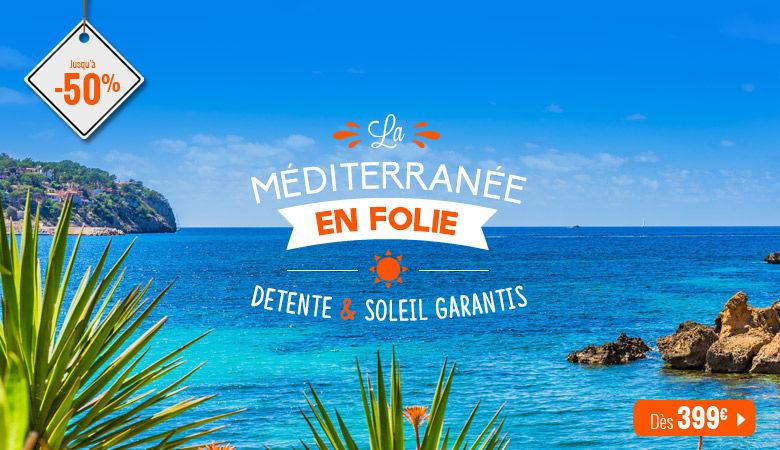 La Méditerranée en folie