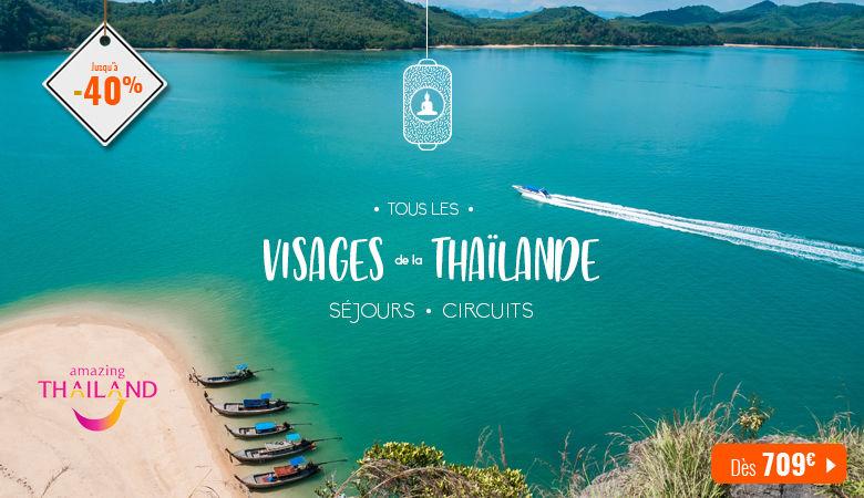 Tous les visages de la Thaïlande