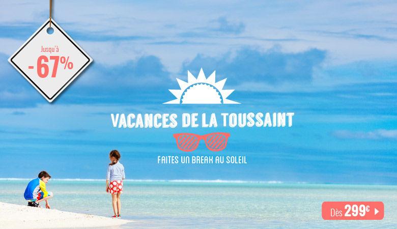 Vacances de la Toussaint, faites un break au soleil !