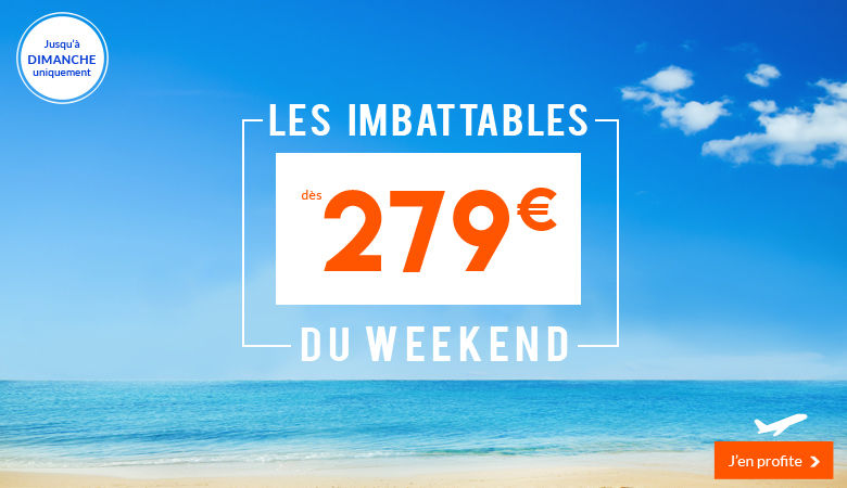 Les imbattables du weekend !