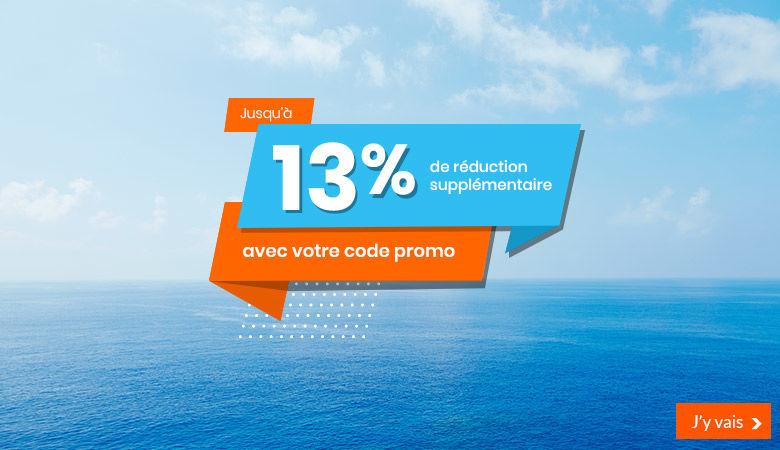Promotions jusqu'à -13%