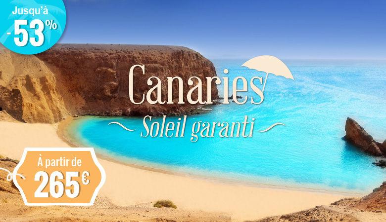 Les Canaries, soleil garanti !