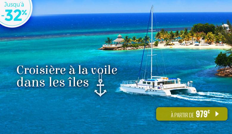 Croisière à la voile dans les îles