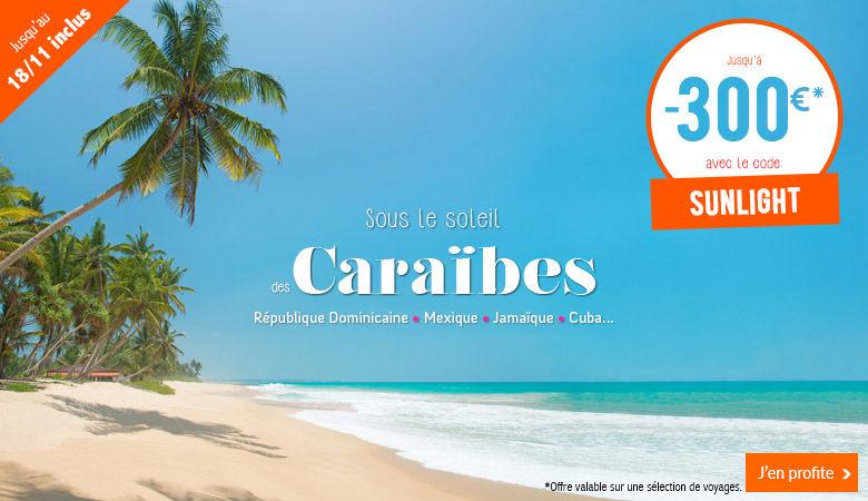 Sous le soleil des Caraïbes