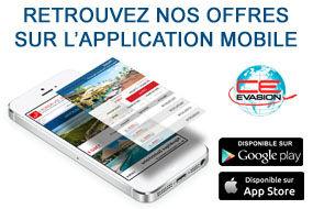 Découvrez dès maintenant l'application mobile CE-Evasion !