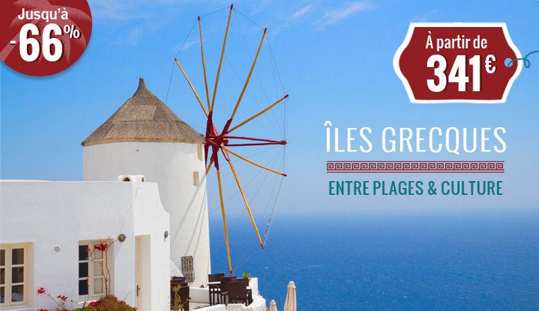 Iles grecques, entre plages et culture