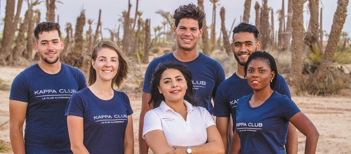 Equipe kappa club palmeraie marrakech maroc 2018(1)