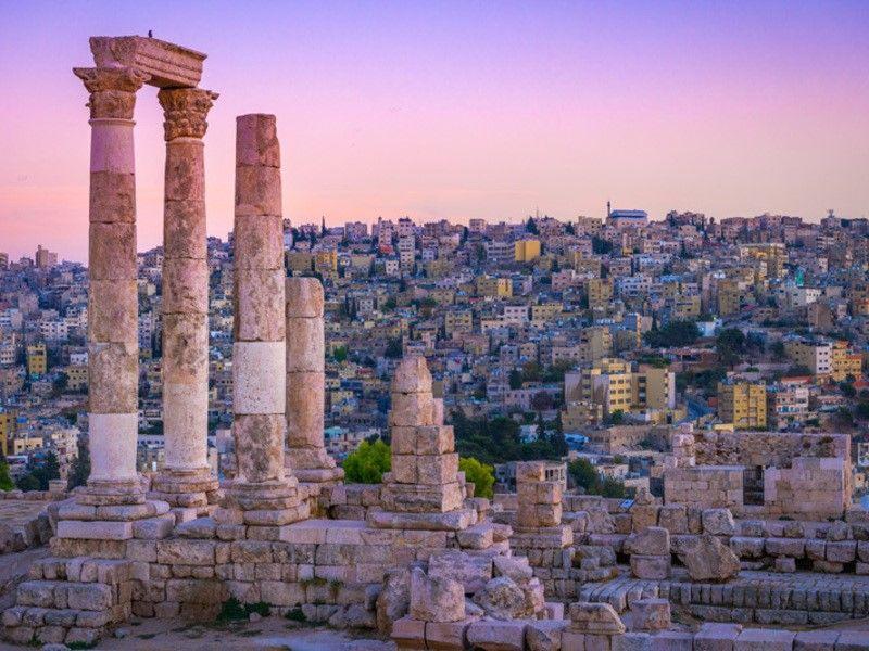 Clin doeil de Jordanie - DAmman à Amman 3 *