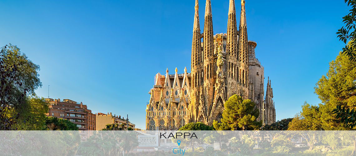 Kappa City Barcelone – Barcelona 1882 4* avec Transport