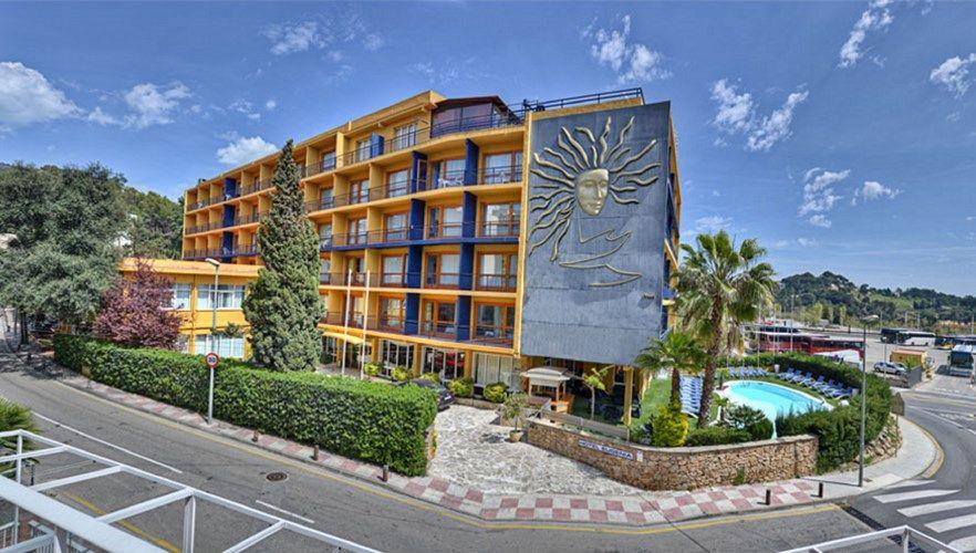 hotel santa cristina 4 lloret del mar costa brava. Black Bedroom Furniture Sets. Home Design Ideas