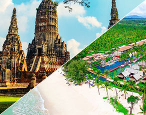 Circuit Authentique Thaïlande & Kappa Club Thai Beach Resort 5*
