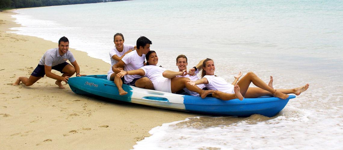 equipe authentique thailande kappa thai beach