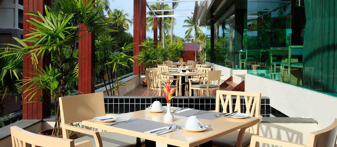 terrasse authentique thailande kappa thai beach