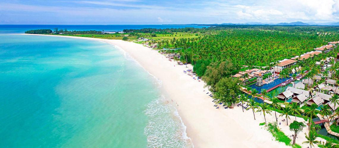 aerien authentique thailande kappa thai beach