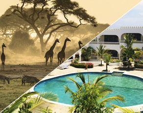 Safaris Tsavo West-Tsavo East & Séjour au Club Coralia Jumbo Watamu Resort 4*