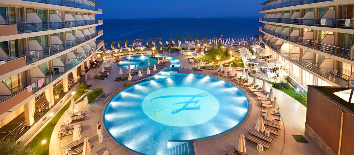 Hôtel Zornitza Sands Beach & Spa 4* sup, Bourgas