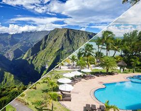 Autotour À la Découverte de la Réunion & Extension Club Coralia Jalsa Beach Hotel & Spa 3*sup