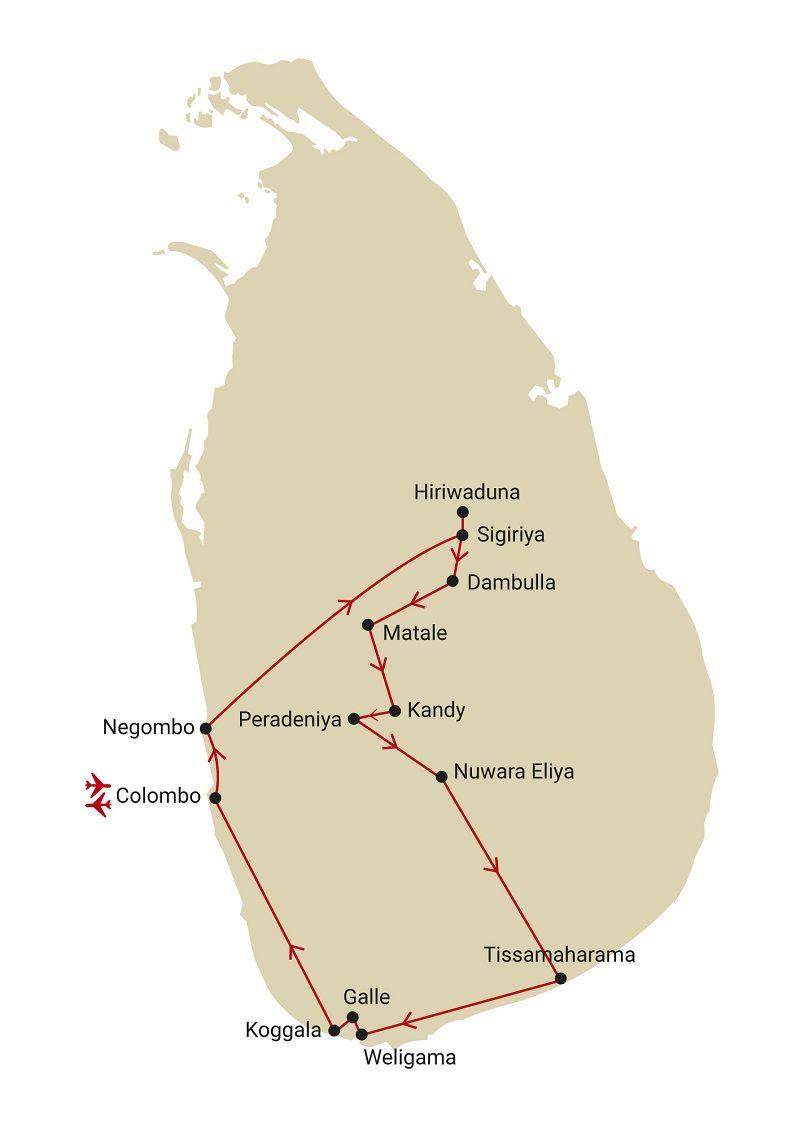Circuit Incontournables Sri Lanka