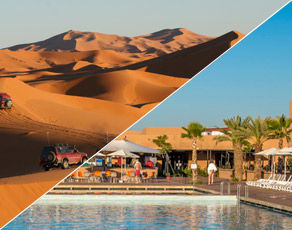 Circuit Le Sud Marocain en 4x4 & Extension Club Coralia Marrakech 4*