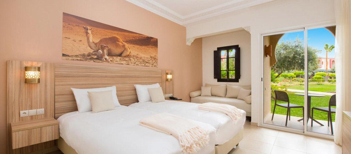 Chambre combine grand sud maroc extension kappa club iberostar palmeraie
