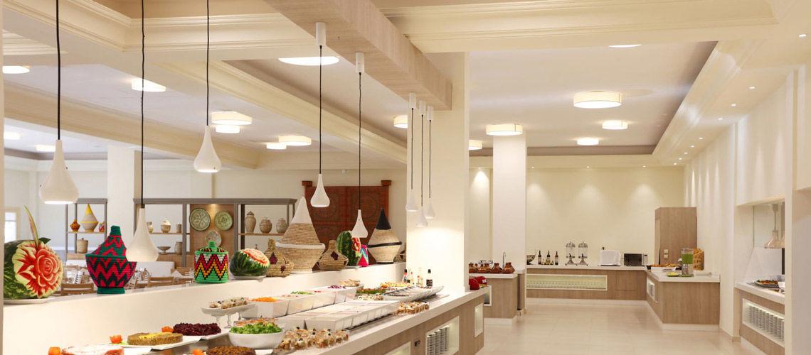 Restaurant combine grand sud maroc extension kappa club iberostar palmeraie