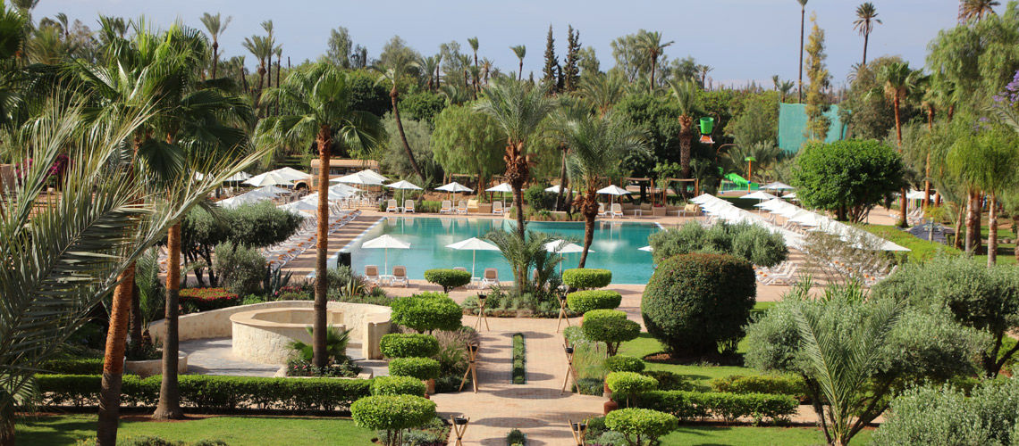 Piscine combine grand sud maroc extension kappa club iberostar palmeraie