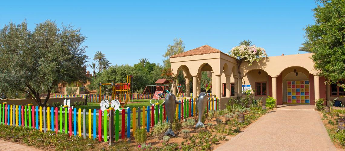 Kids Club combine grand sud maroc extension kappa club iberostar palmeraie
