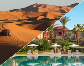 Circuit Grand Sud Maroc & Extension Kappa Club Iberostar Palmeraie Marrakech 4*