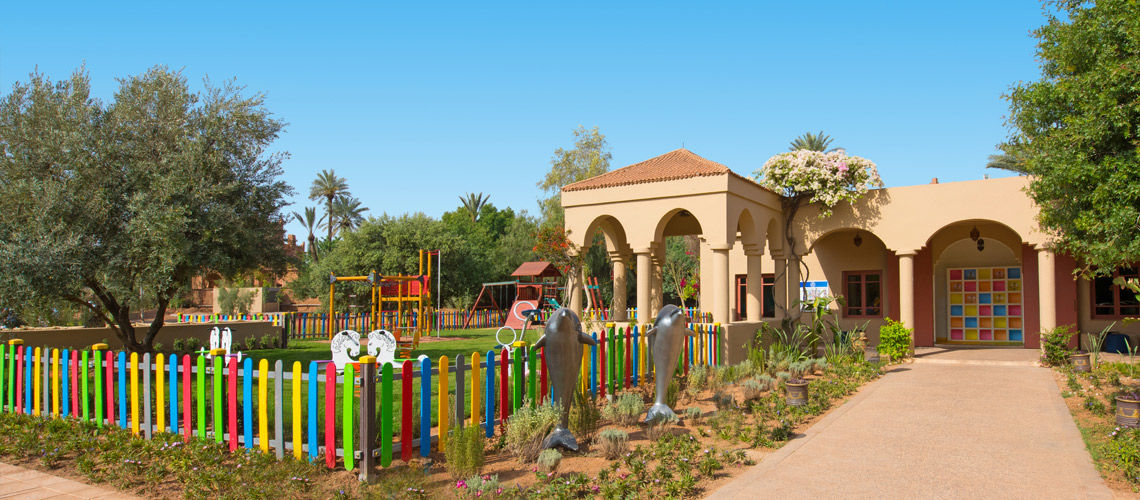 Kids Club combine grand sud maroc extension kappa club iberostar palmeraie