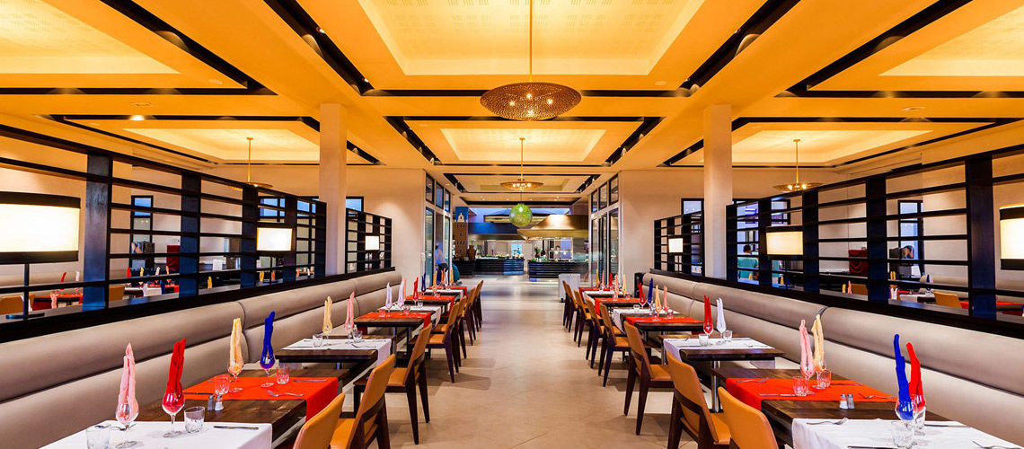 Restaurant combine grand sud maroc extension club coralia aqua mirage