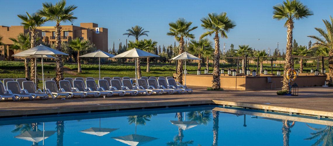 Piscine combine grand sud maroc extension club coralia aqua mirage